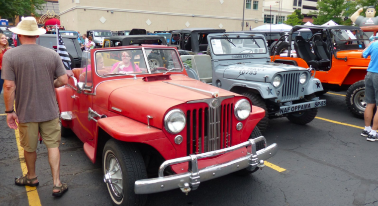 Toledo Jeep Fest Entrants