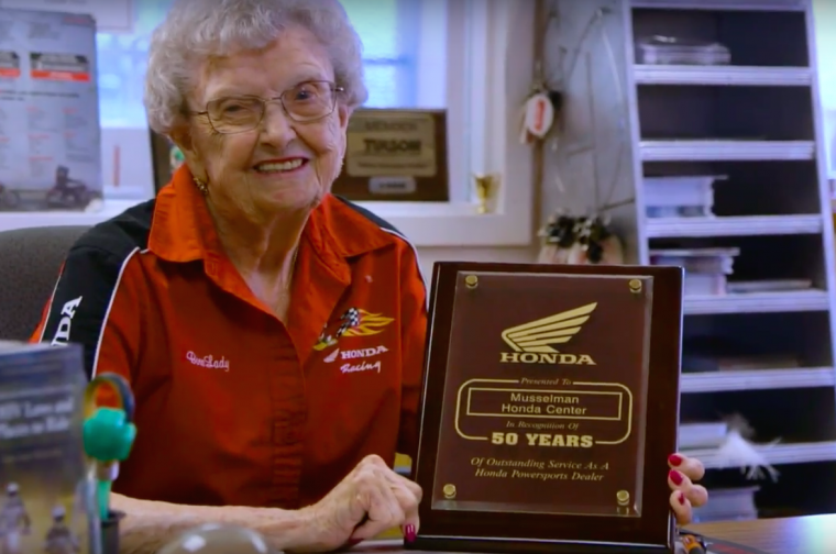 Tucscon Honda dealer Helen Musselman is featured in the latest Honda Kokoro video