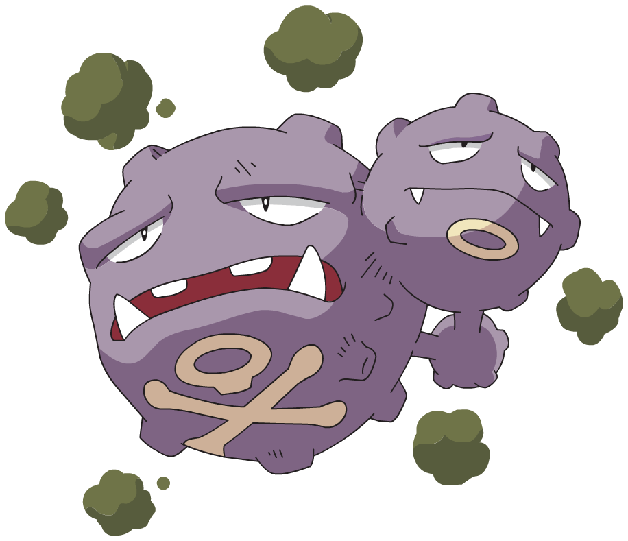 Weezing pokemon | The News Wheel