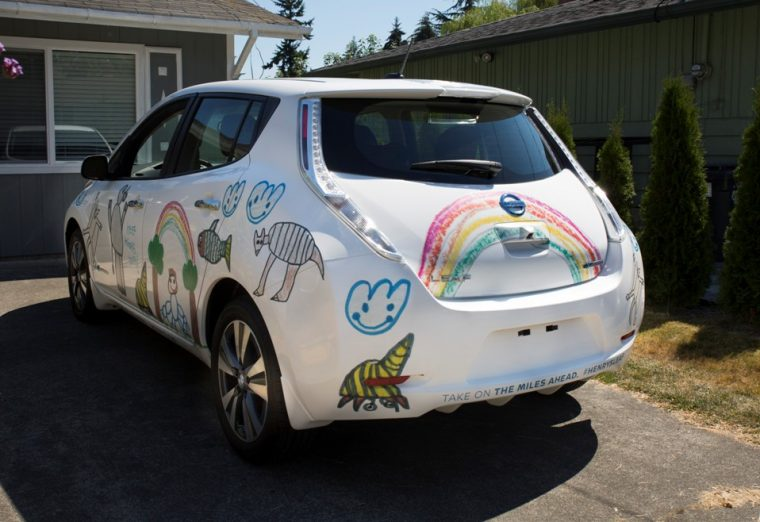 "Henry, the ""Emotional Environmentalist"" Nissan LEAF"
