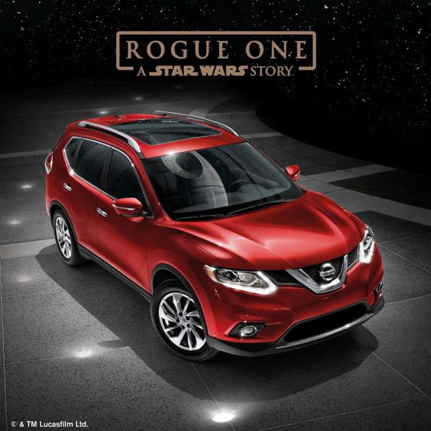 Red Nissan Rogue Star Wars Ad