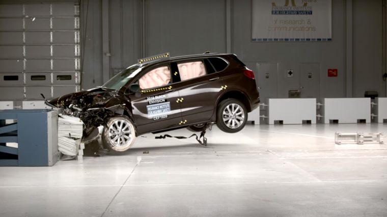 The IIHS recently gave the Buick Envision its top honor of being a Top Safety Pick+