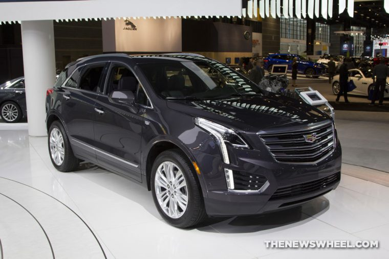 The latest vehicle to be named an IIHS Top Safety Pick+ is the 2017 Cadillac XT5 luxury crossover