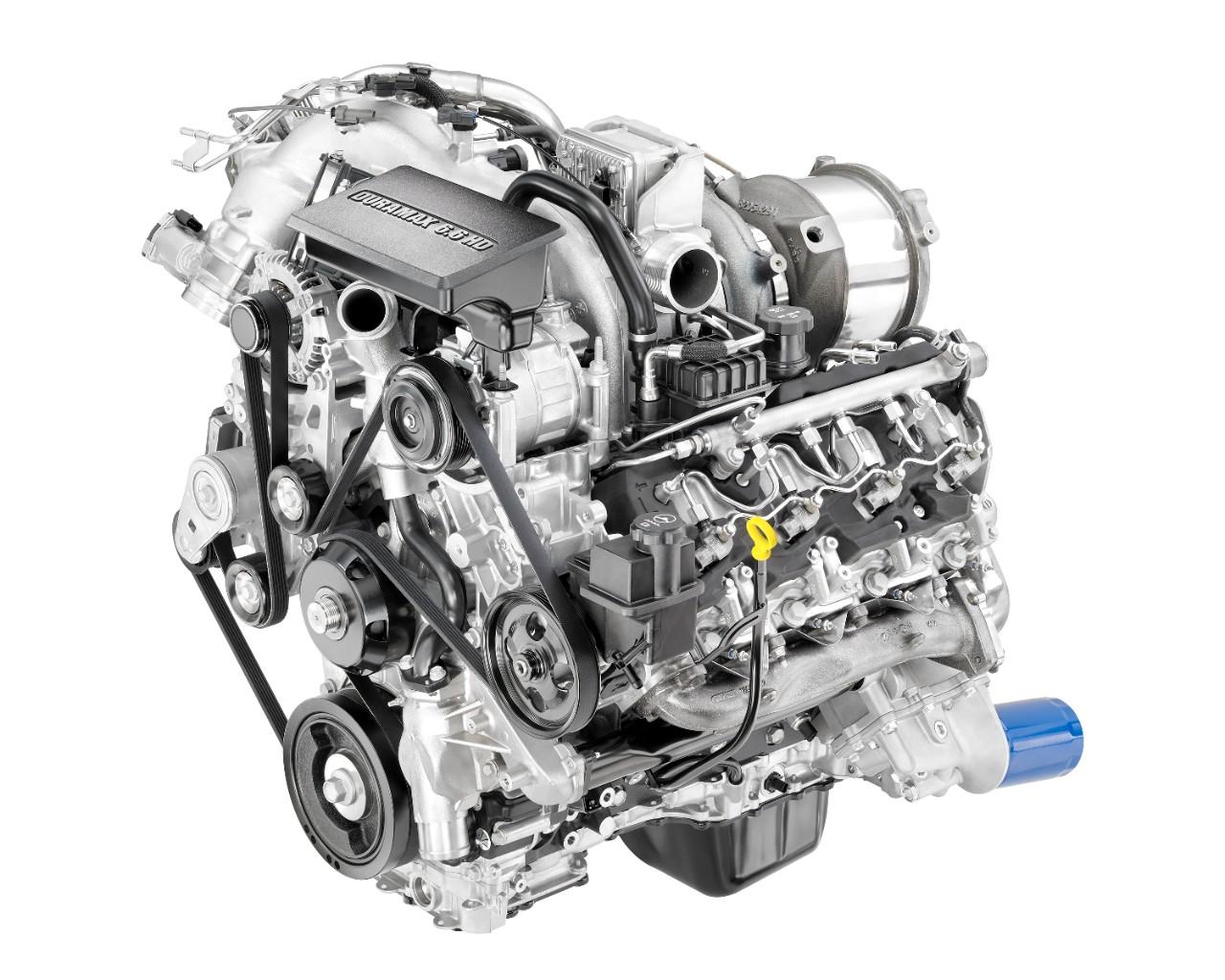 Duramax Liter V Turbo Diesel L P Engine