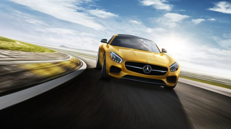 The 2017 Mercedes-AMG GT coupe is mostly unchanged from last year's model