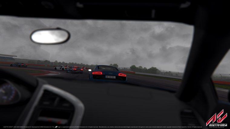 Onboard an Audi R8