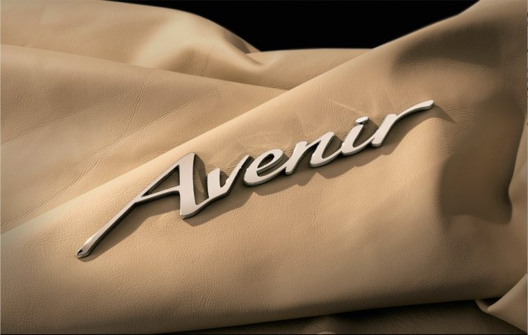 "The logo of Buick's newest ""sub-brand,"" Avenir"