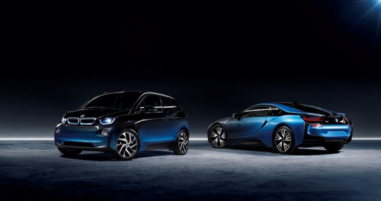 BMW i8 and i3 Garage Italia CrossFade