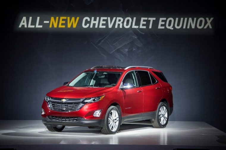 The Chevy Equinox will be lighter and also offered with more engines for its 2018 model year
