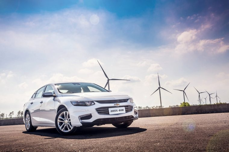 The Chevrolet Malibu XL Hybrid is officially available in China