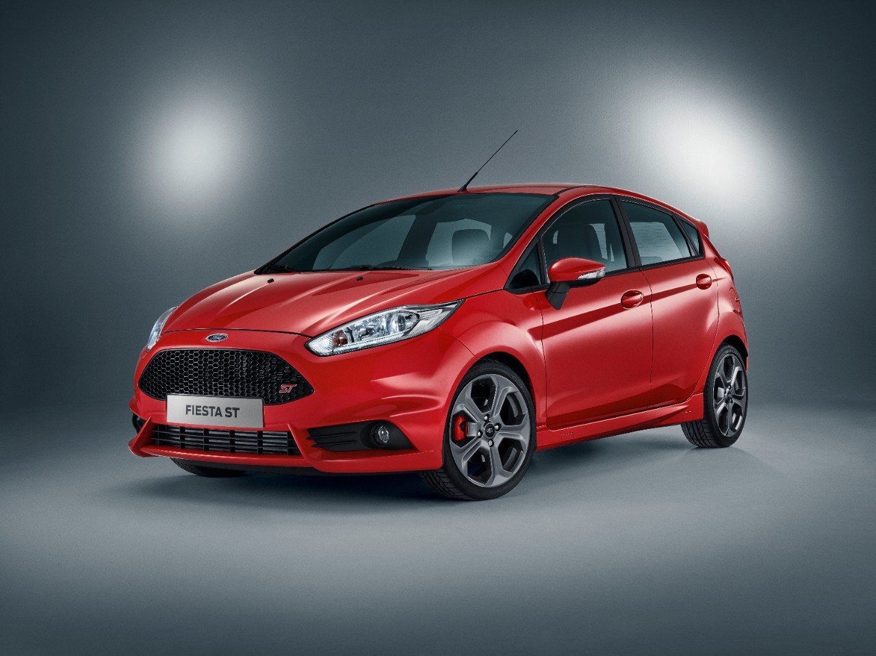 five-door Ford Fiesta ST