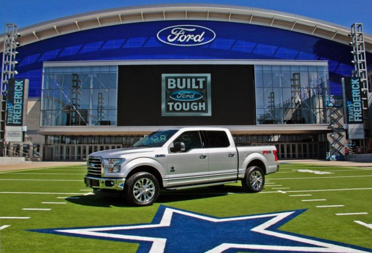 Only 400 examples of the new limited-edition Dallas Cowboys Ford F-150 have been produced