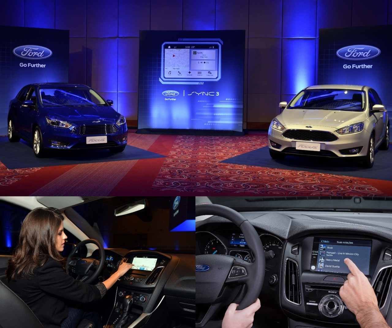 ford launches sync 3 for brazil in 2017 focus the news wheel. Black Bedroom Furniture Sets. Home Design Ideas