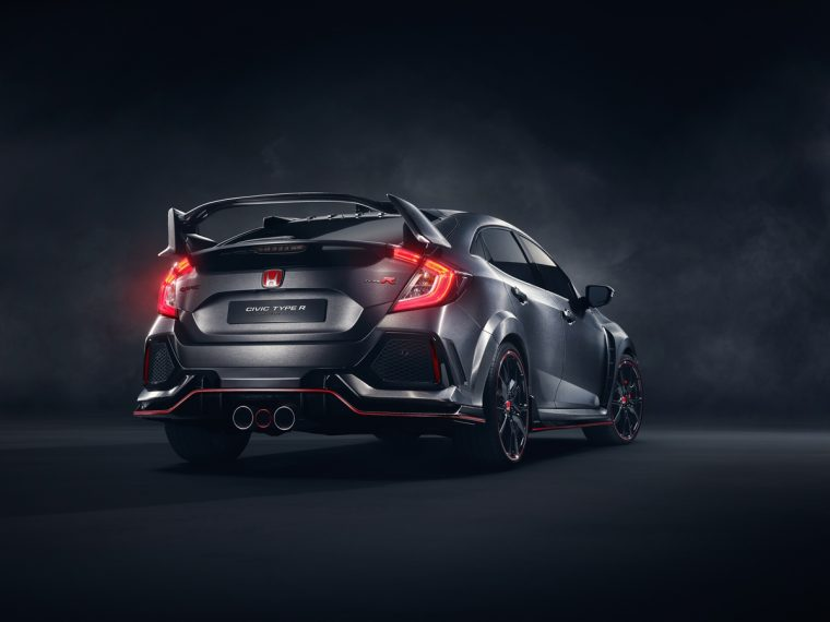 Honda Civic Type R Prototype debuts at 2016 Paris Motor Show