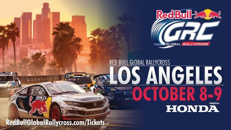 American Honda Motor Co., Inc. has partnered with Red Bull Global Rallycross as presenting sponsor of the series' third annual event at the Port of Los Angeles in San Pedro on October 8-9.