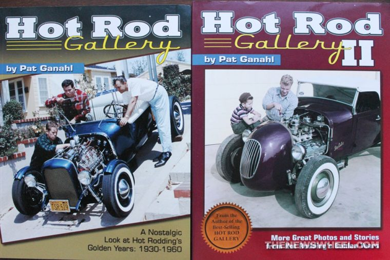 Hot Rod Gallery Book review Pat Ganahl classic cars cover