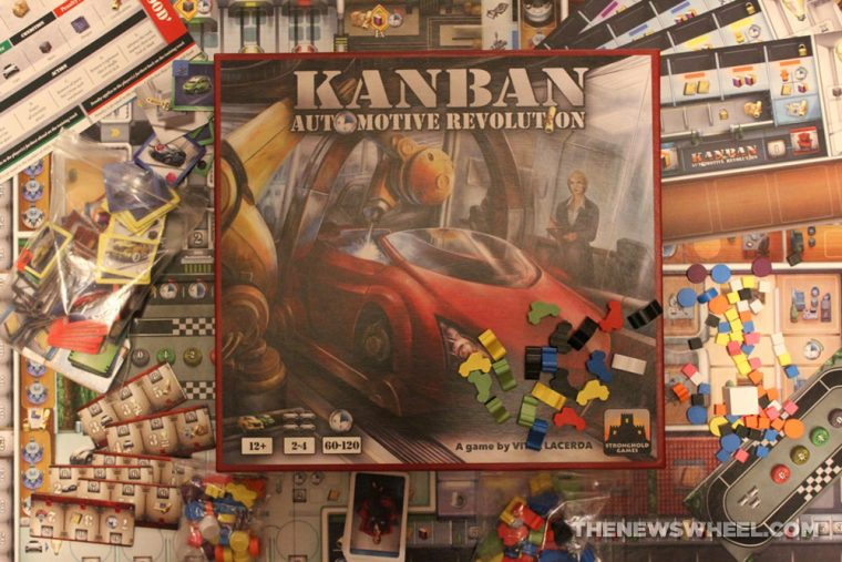 Kanban Automotive Revolution board game review box