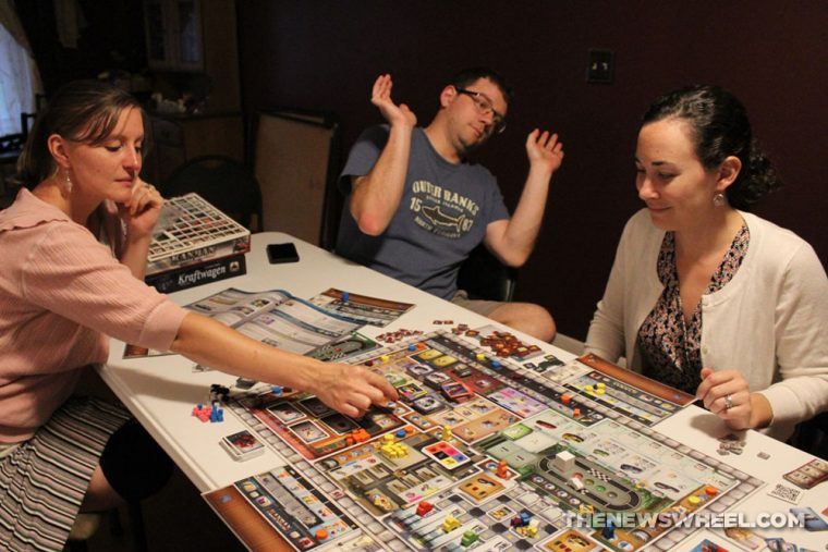 Kanban Automotive Revolution board game review play test