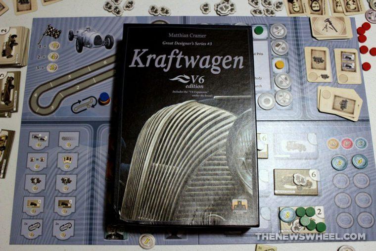 Kraftwagen V6 Edition Stronghold Games 2016 board game review