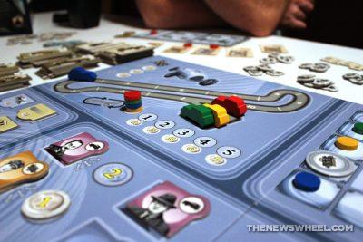Kraftwagen V6 Edition Stronghold Games 2016 board game review grand prix