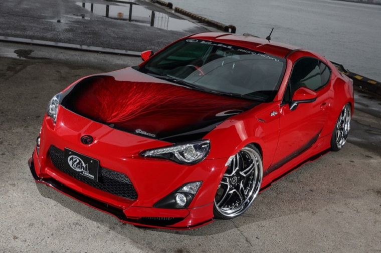 check out kuhl racing s insane custom scion fr s the news wheel. Black Bedroom Furniture Sets. Home Design Ideas
