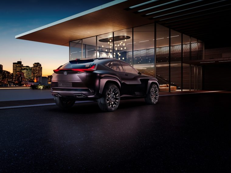 Lexus UX concept crossover SUV to debut at Paris Motor Show