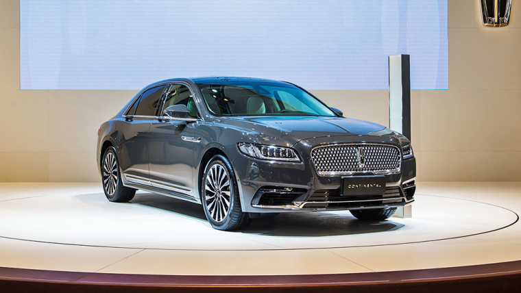 Lincoln Continental Chengdu Motor Show