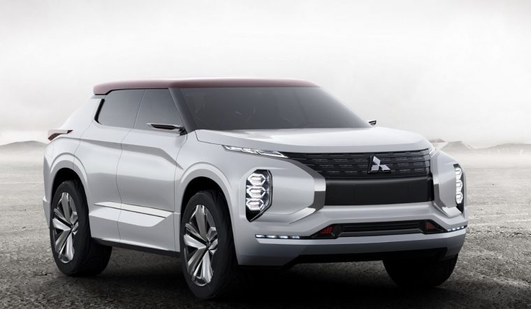 Mitsubishi GT-PHEV Concept Car Front End