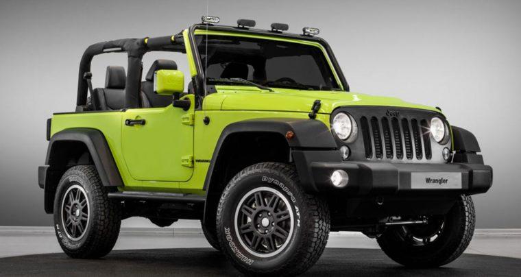 Paris Motor Show Jeep Wrangler