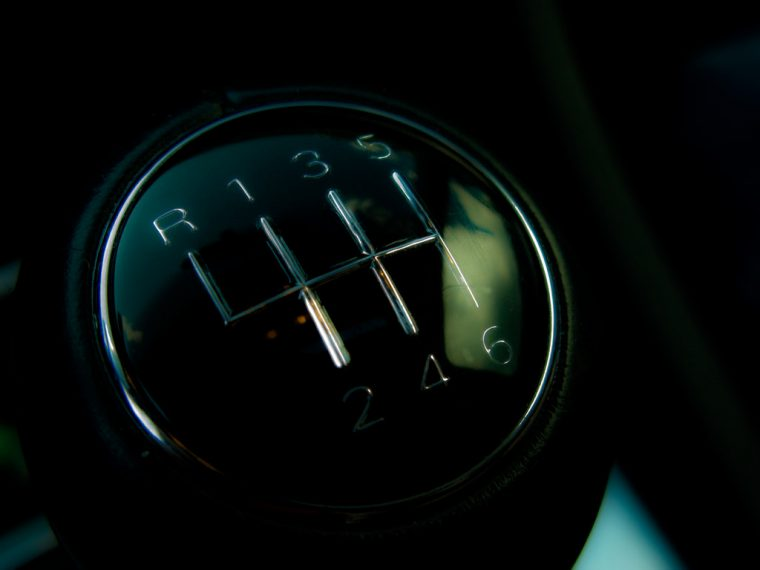 Six-Speed Manual Gear Stick