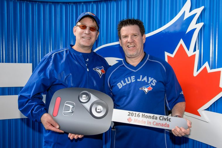 Toronto Blue Jays Honda sponsorship