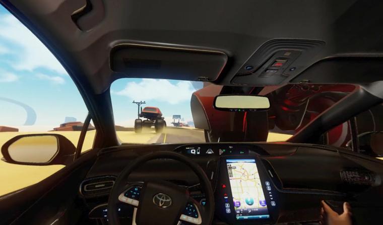Toyota Prius Prime in VR