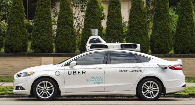 Uber Pittsburgh Self-Driving Vehicle Testing