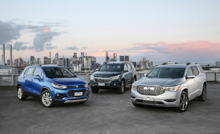 New Holden SUVs
