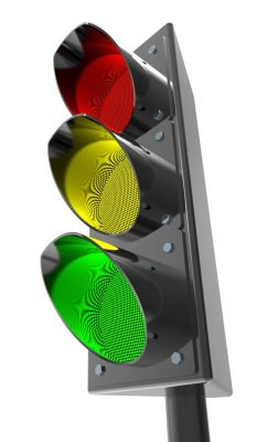 traffic light signal colors red yellow green