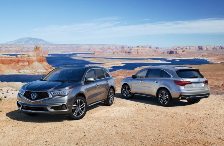 The 2017 MDX gets more standard equipment and revised exterior styling