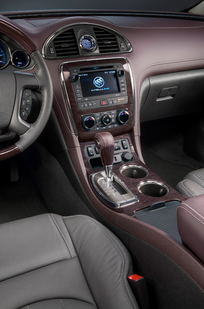 2017 buick enclave interior the news wheel. Black Bedroom Furniture Sets. Home Design Ideas
