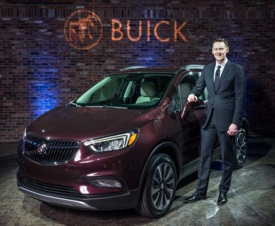 2017 Buick Encore model overview display