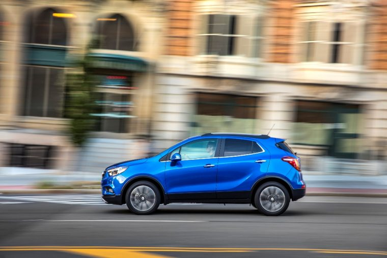 2017 Buick Encore model overview driving performance