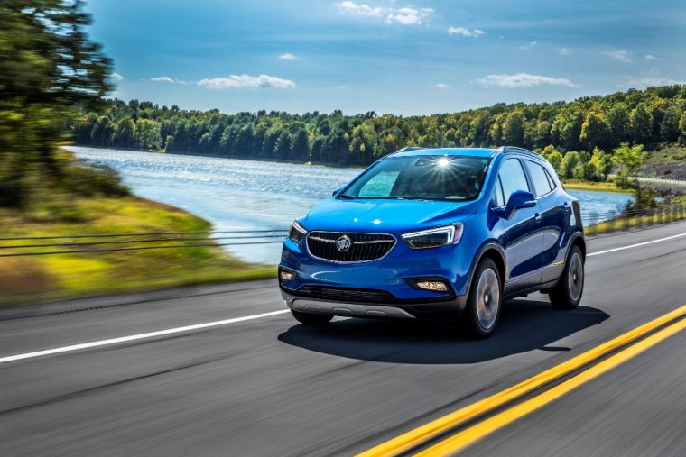 2017 Buick Encore model overview exterior