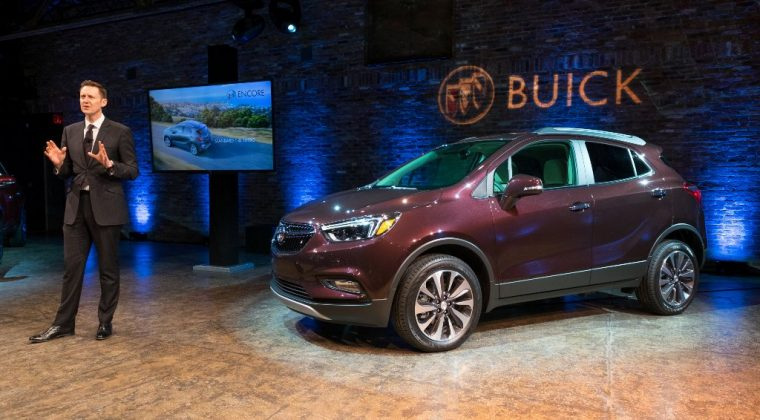 2017 Buick Encore model overview reveal