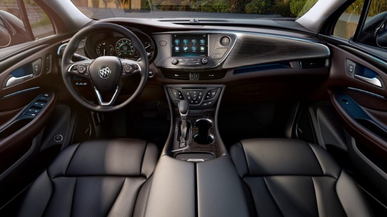 2017 Buick Envision Dash