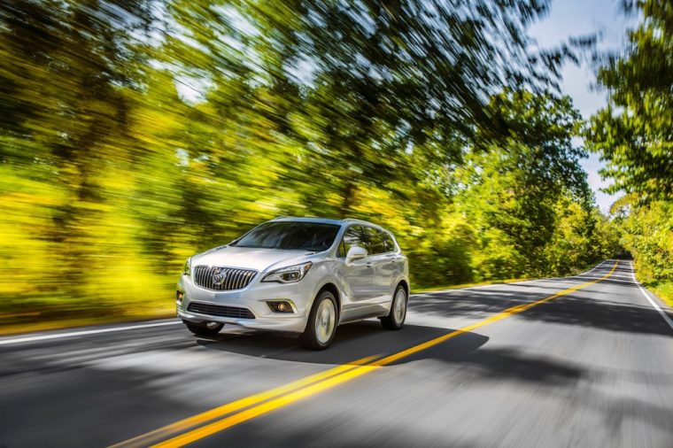 2017 Buick Envision Performance