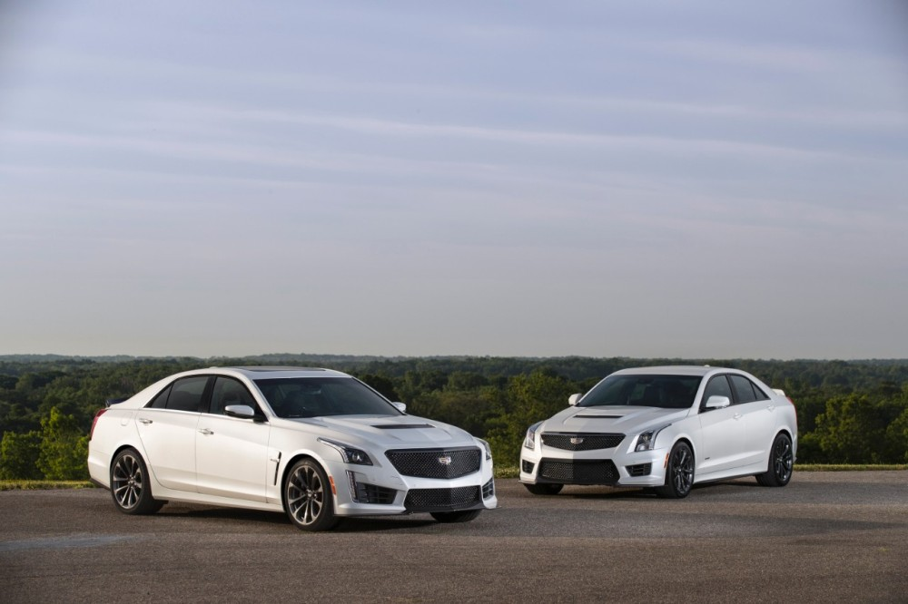 2017 Cadillac Cts V Super Sedan And 2017 Cadillac Ats V