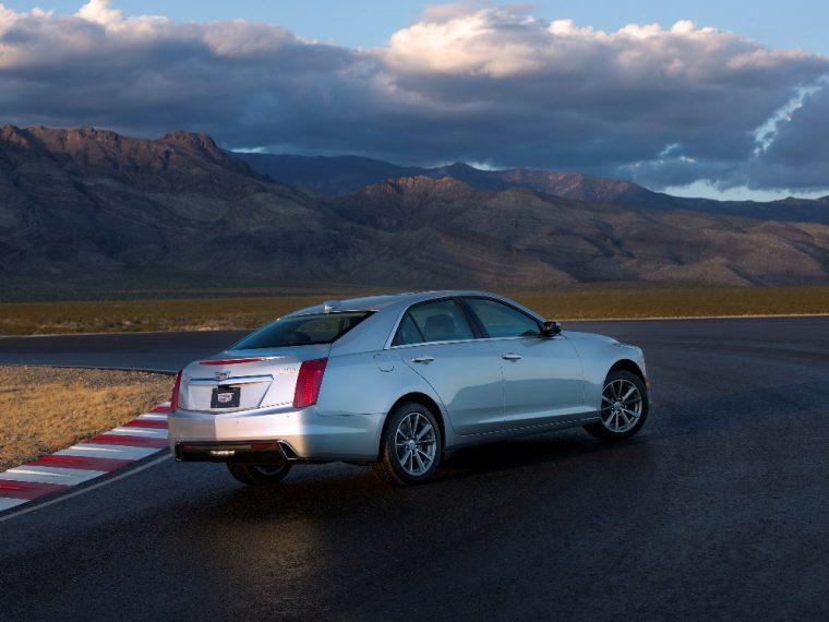 The 2017 Cadillac CTS starts at less than $46,000