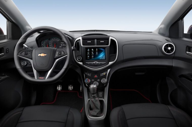 2017 Chevrolet Sonic Dashboard