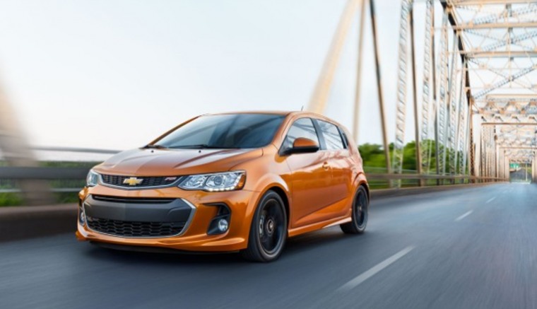 2017 Chevrolet Sonic RS Hatchback