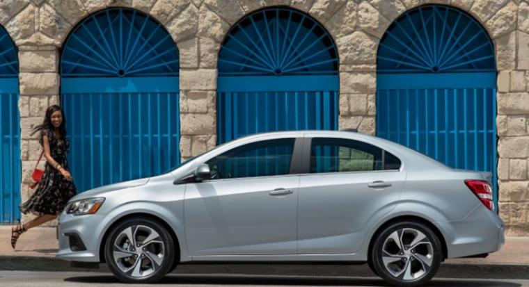 2017 Chevrolet Sonic Sedan Silhouette