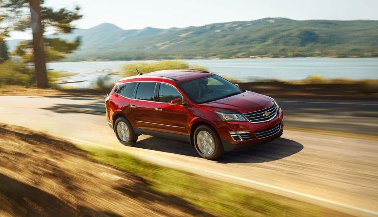 2017 Chevrolet Traverse Driving