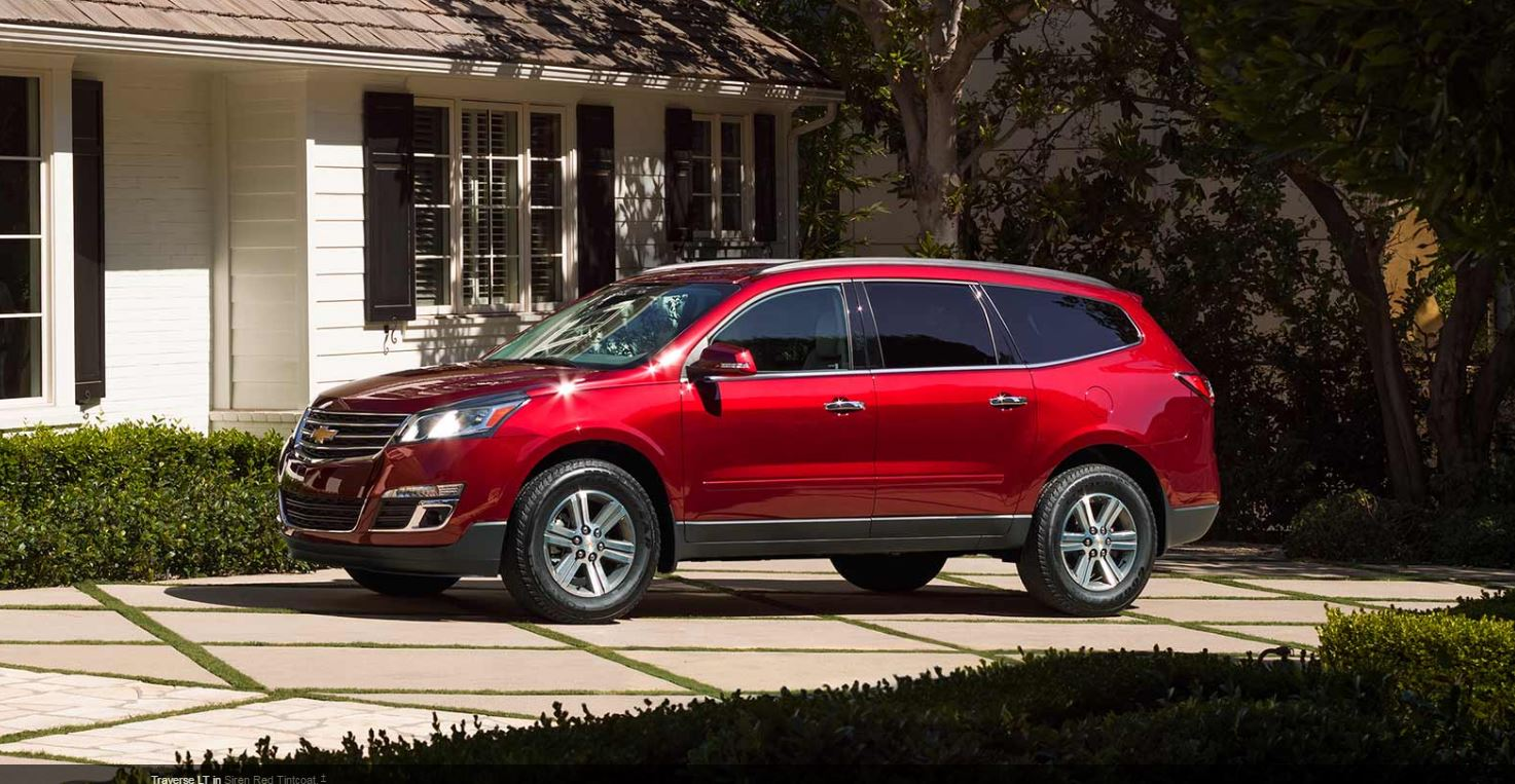 2017 chevrolet traverse overview the news wheel. Black Bedroom Furniture Sets. Home Design Ideas